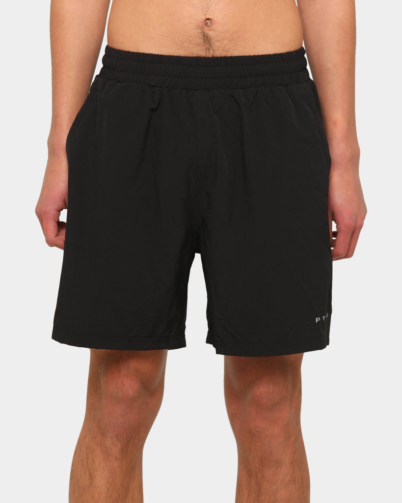PYRA Men's Sweat Short Black/3M