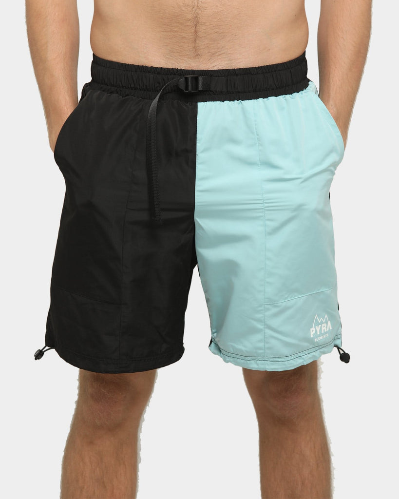 PYRA Hiking Shorts Black/Mineral