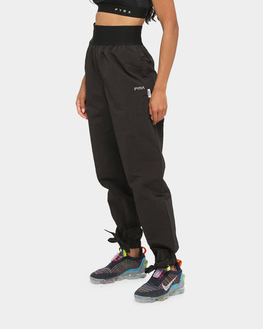 PYRA Women's Bow Nylon Pants Black