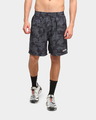 PYRA Camo Sweat Shorts Black Camo