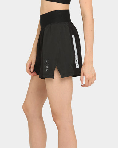 PYRA Women's Hiking Shorts Black