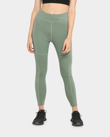 PYRA Women's Path Finder Legging Olive Green