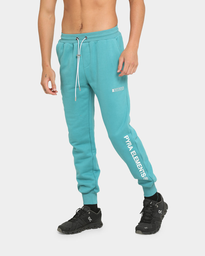 PYRA Elements Track Pant Teal/White