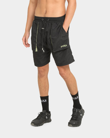 PYRA Summit Shorts Black