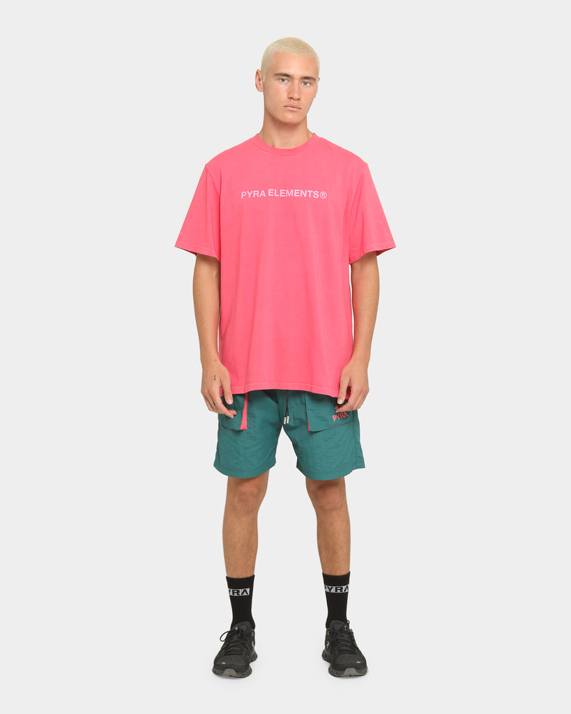 PYRA Summit Shorts Teal/Pink