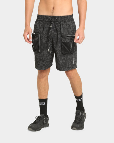 PYRA Tactical Shorts Black/Reflective