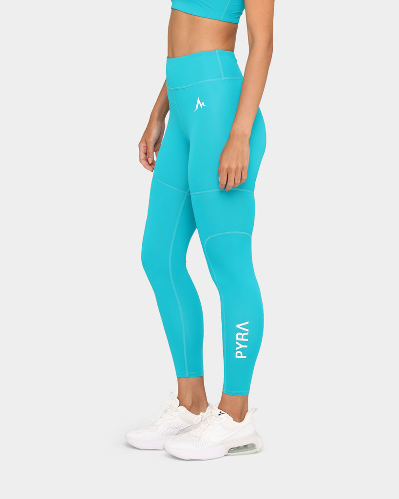 PYRA Women's Enthusiast Tights Teal/Teal