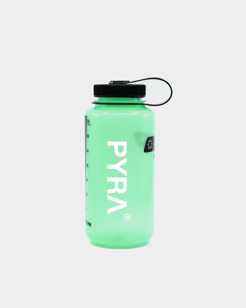 PYRA Unisex PYRA® x Nalgene 1000ml Drink Bottle Glow/Black