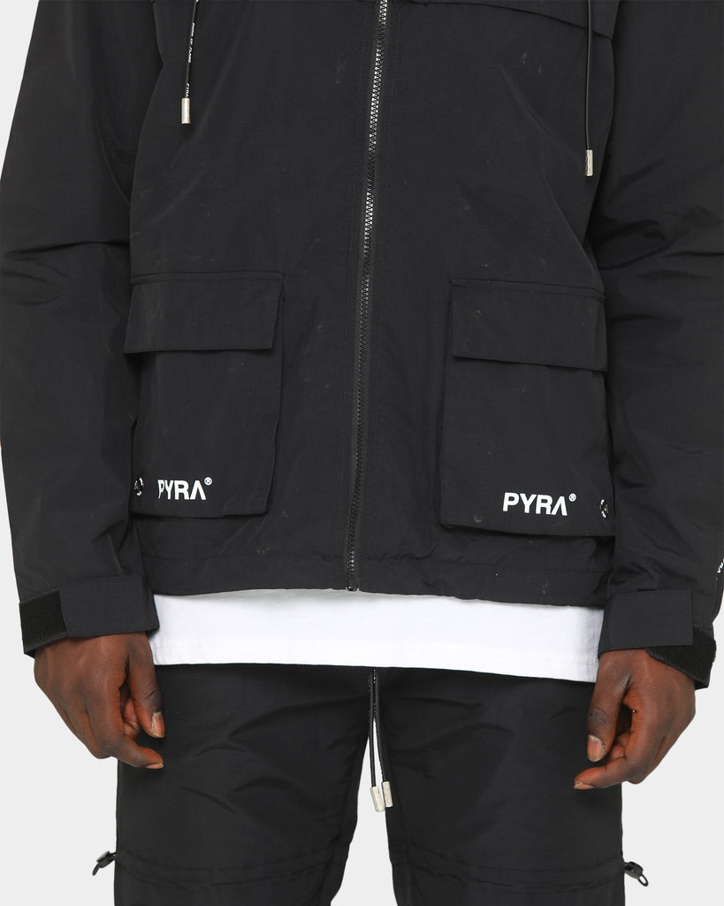 PYRA Cordura Zip Jacket Black