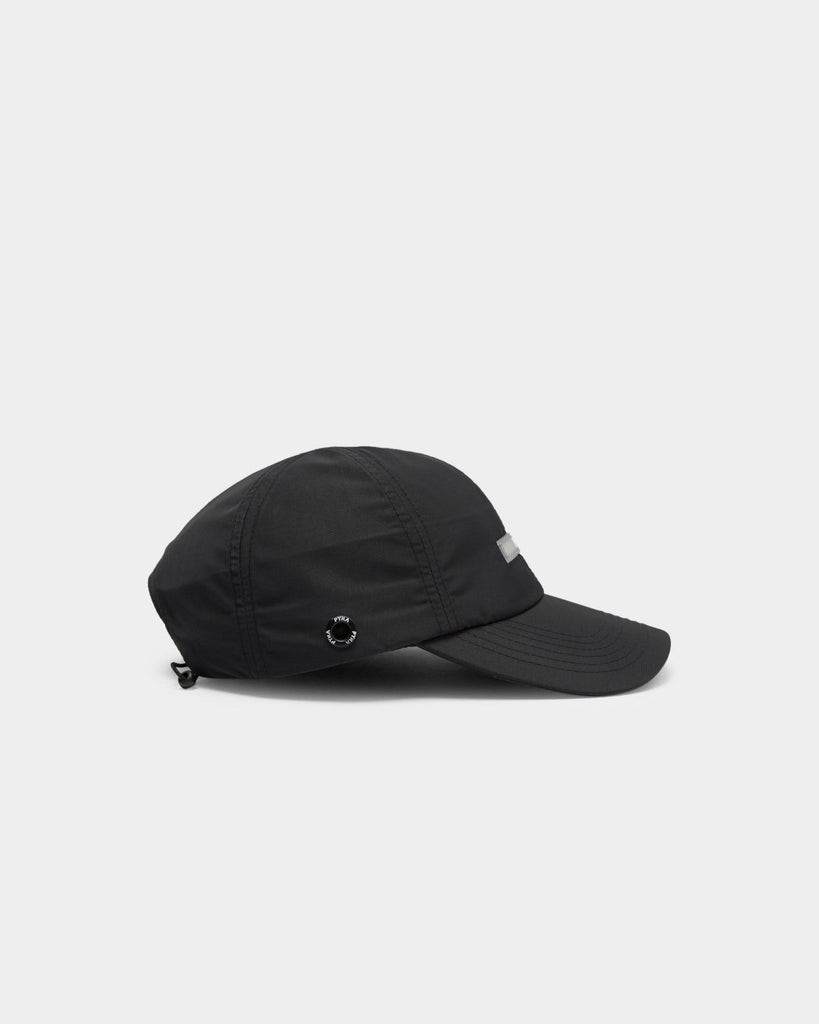 PYRA 6 Panel 3M Hat Black