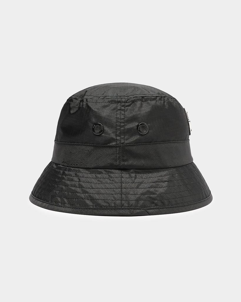 PYRA Nylon Badge Bucket Black