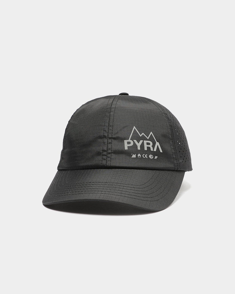 PYRA Perforated Running Hat Black