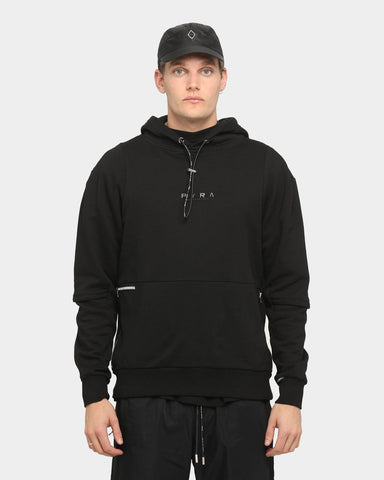 PYRA Tech Layer Hoodie Black