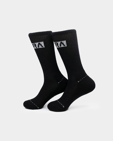PYRA Men's Supply Sock Black