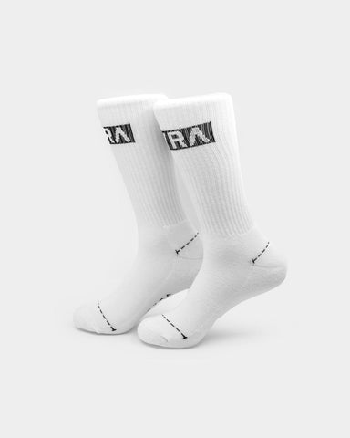 PYRA Men's Supply Sock White