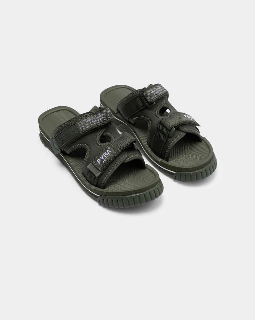 PYRA Men's PYRA® x Shaka Chill Out Sandal Olive Green