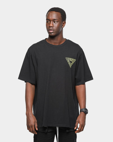 PYRA Repeat Tee Black