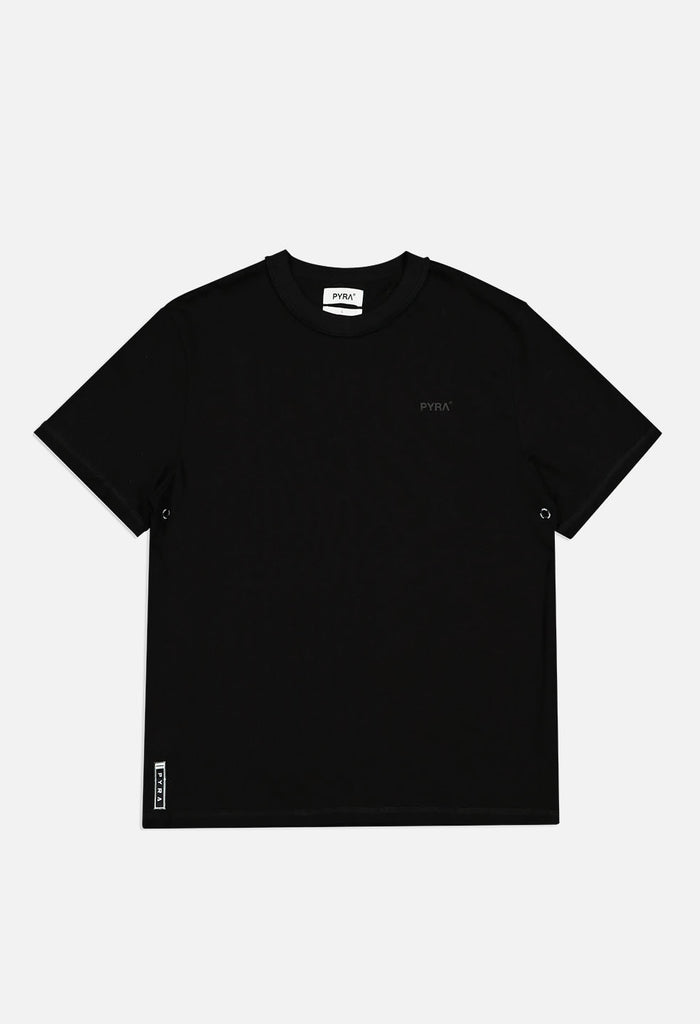 PYRA Inside Out Tee Black