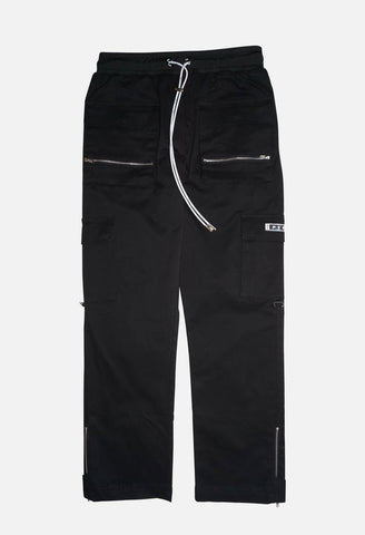 MILITARY CARGO PANT- BLK