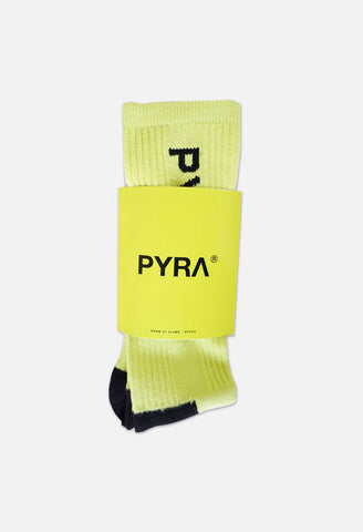 PYRA Neon Sock Neon Yellow