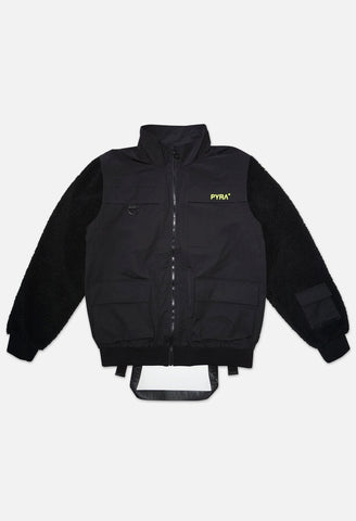 Pyra Tech Fleece Vest Black