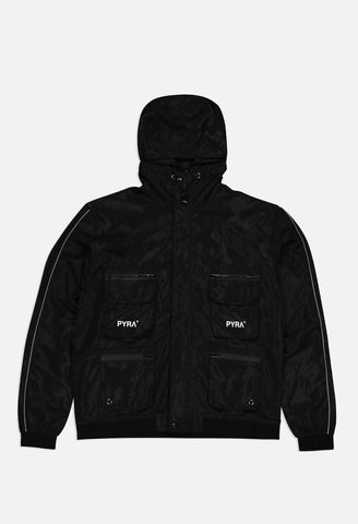 PYRA Utility 5K Shell Jacket Black