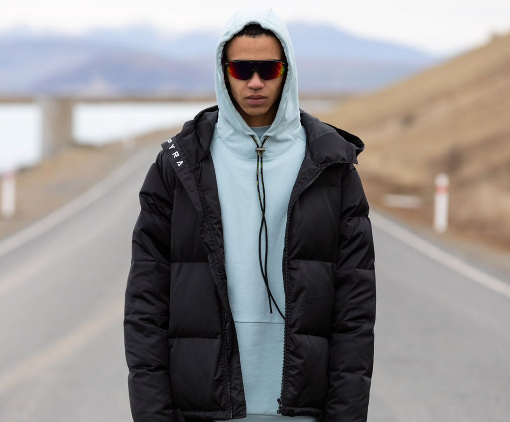 TECH LAYERED HOOD - OCEAN