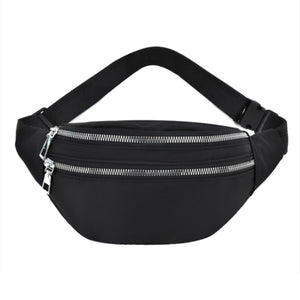 jet black im sports fanny bum bag