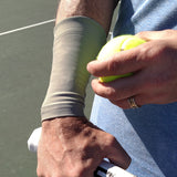 TOPSPIN Black Wrist 6 Inch Tennis Recovery Sleeves