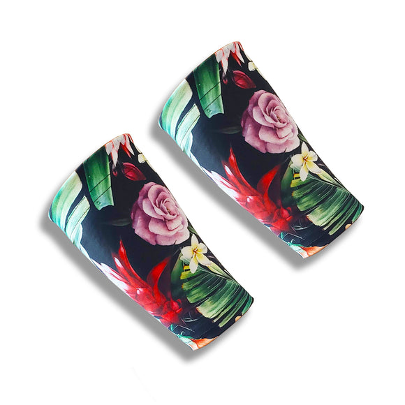 bird of paradise wrist sleeves for tennis