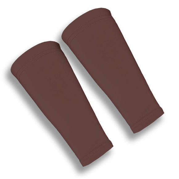 Brown Volleyball Forearm 9 Inch Sleeves