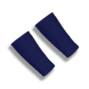 TOPSPIN Dark Navy 6 Inch Tennis Wrist Covers