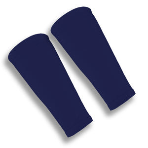Dark Navy Forearm 9 Inch Sleeves for Volleyball U.S. Made