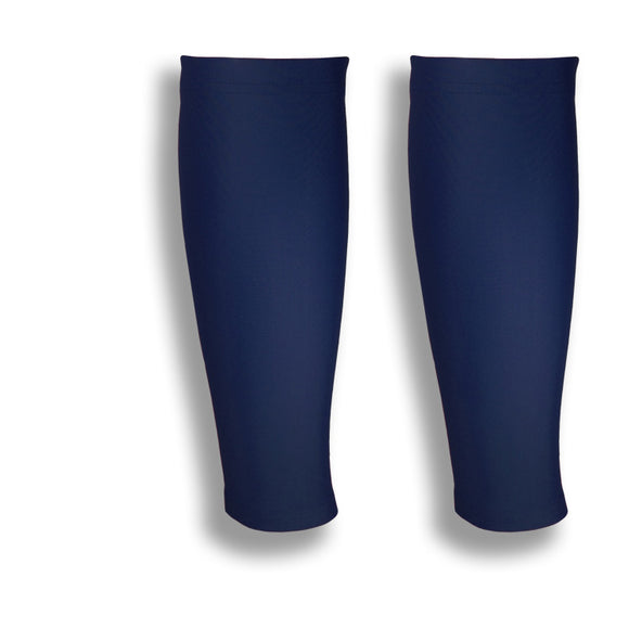 iM Sports GAZELLE Dark Navy Running Calf Compression Sleeves