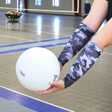 grey camo forearm sleeves for beach volleyball