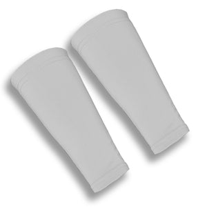 Grey 9 Inch Forearm Volleyball Compression Sleeves