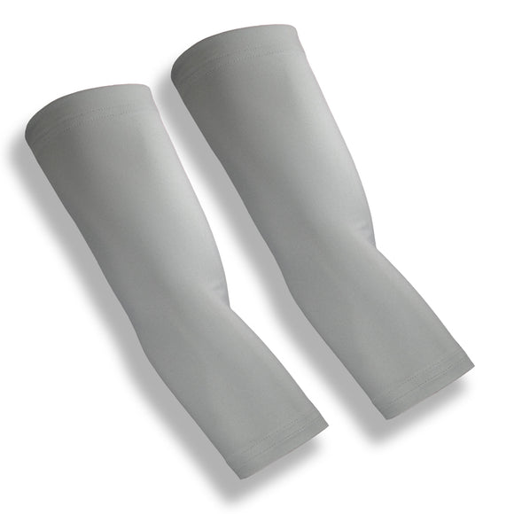 BACKSPIN Grey Tennis Elbow Sleeve Pair