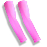MILER Pink UV Sleeves for Running