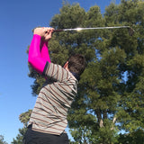 LONG DRIVER Pink Full Arm Golf Sun Sleeves