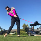 pink cooling arm sleeves for golf