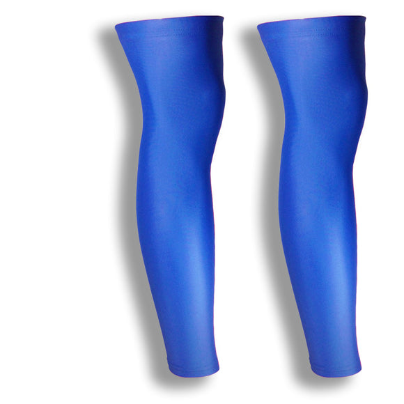 iM Sports CHEETAH Royal Blue Running Full Leg Sleeves