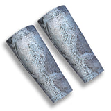 ATTACKER Grey Snakeskin 9 Inch Volleyball Forearm Sleeves