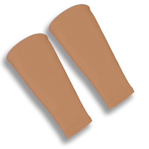 Suntan Forearm 9 Inch Volleyball Sleeves