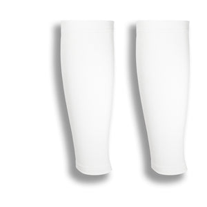 iM Sports GAZELLE White Calf Leg Running Sleeves