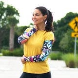 womens full arm volleyball sleeves
