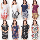 O Neck Casual Floral Print Dress
