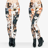 Animal Shapes Cats Leggings