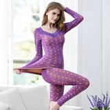 Sexy V-neck Long Johns For Women