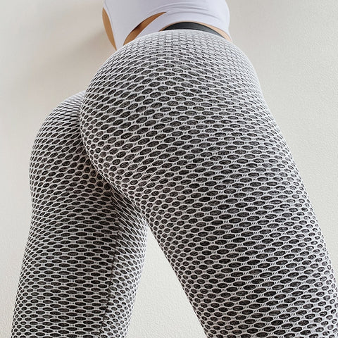 High Waist Dot Fitness Leggings