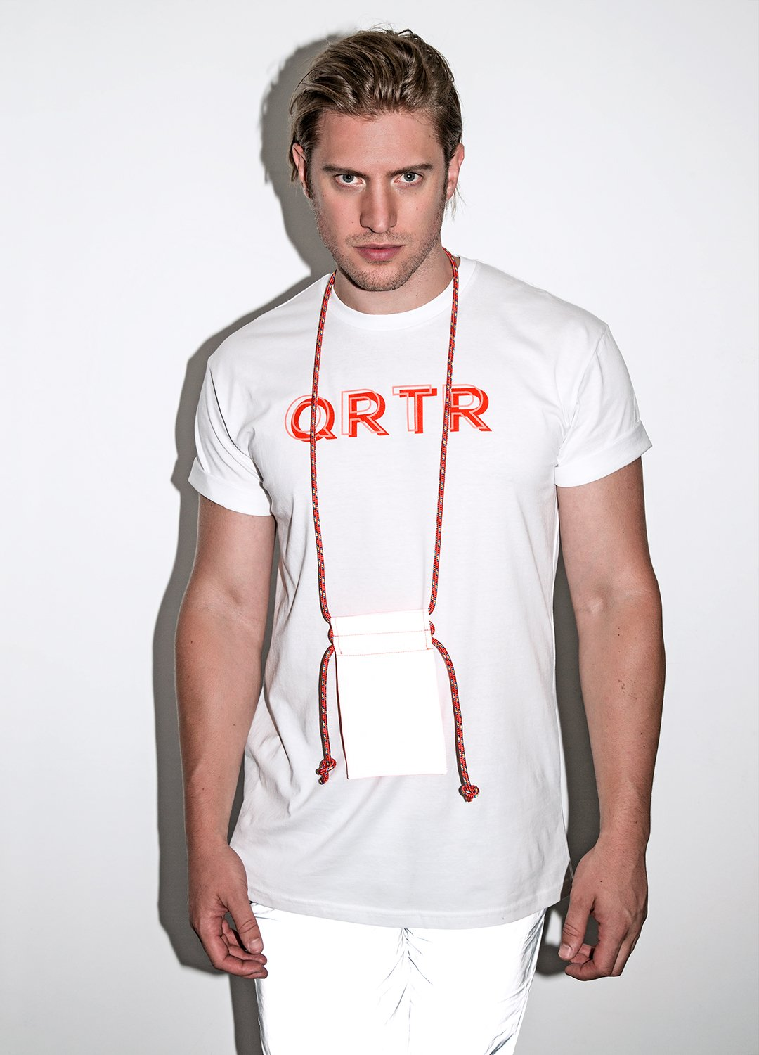 QRTR Edition Drop Logo T-Shirt - QRTR
